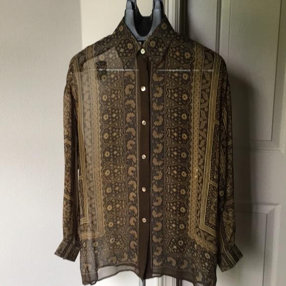 2edc737563732d Ellen Tracy Tops - Beautiful silk blouse by Linda Allard Ellen Tracy
